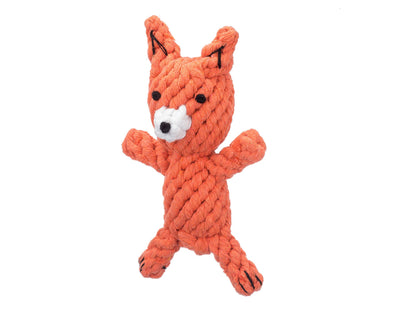 Frederick The Fox Rope Dog Toy