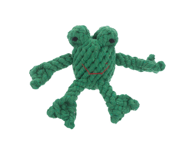 Flip the Frog Rope Dog Toy