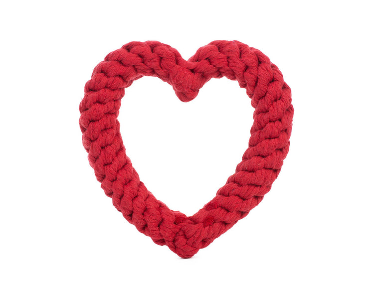 "Red Heart 7"" Rope Dog Toy"