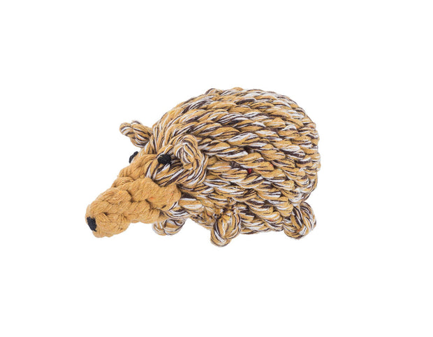Hedgehog Rope Dog Toy
