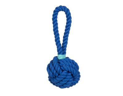 Blue Celtic Knot Rope Dog Toy - Large