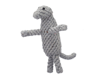 "Dexter The Komodo Dragon 9"" Rope Dog Toy"