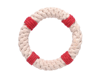 "Lifesaver 7"" Rope Dog Toy"