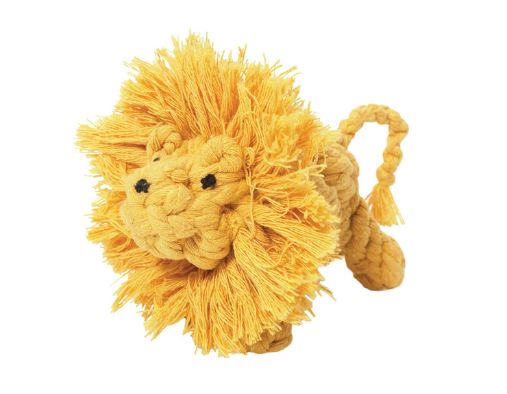 Larry the Lion Rope Dog Toy