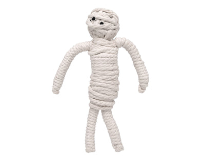 "Mumford the Mummy 10"" Rope Dog Toy"