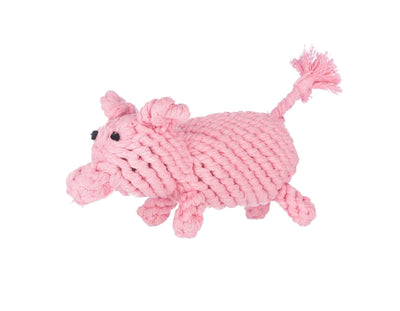 Penny The Pig Rope Dog Toy