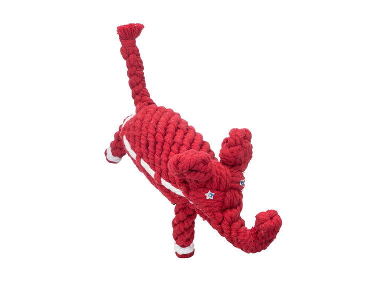 "Elephant Republican 10"" Rope Dog Toy"