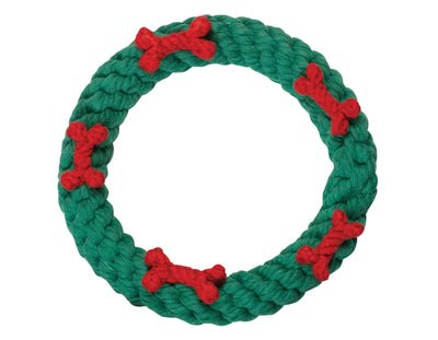Holiday Ring Rope Toy
