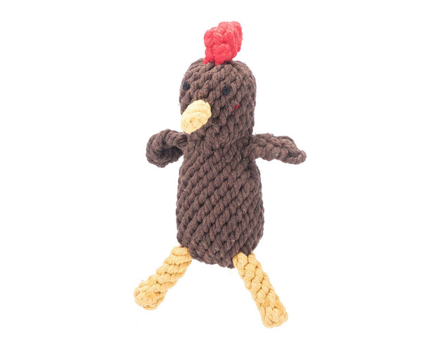 Randall The Rooster Rope Dog Toy