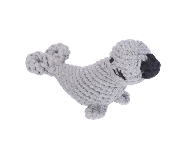 Sidney the Seal Rope Dog Toy