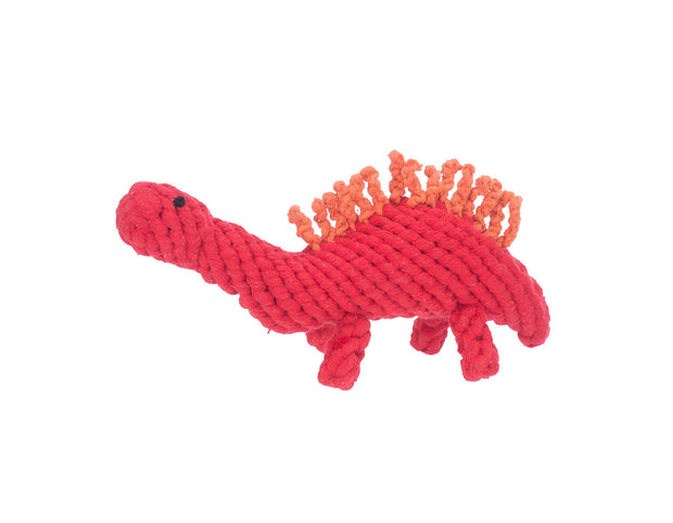 Stegosaurus Rope Dog Toy