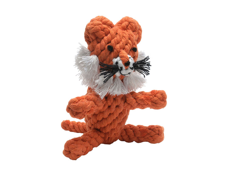 Timmi the Tiger Rope Dog Toy