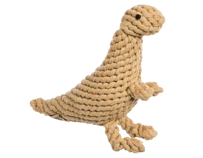 "Tyson The T-Rex 11"" Rope Dog Toy"