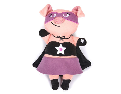 "Jelly Roll the Pig 11"" Wool Toy"