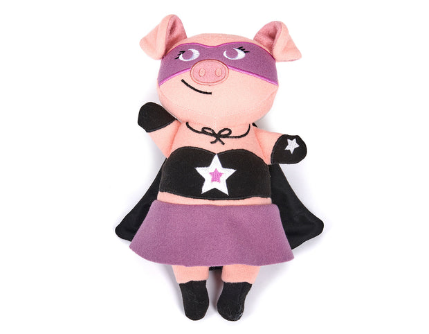 Jelly Roll the Pig Wool Toy