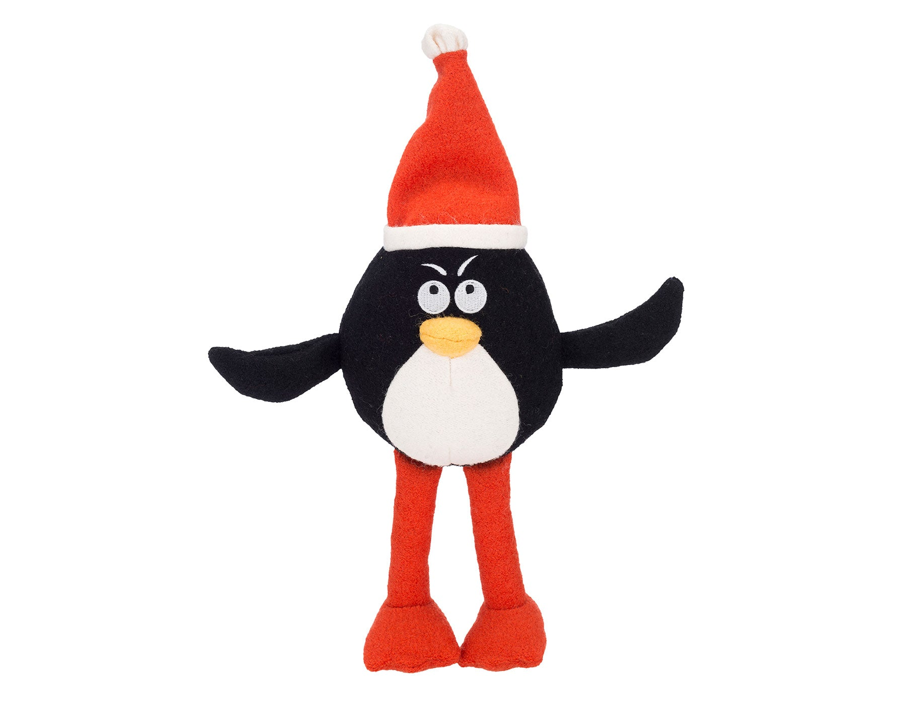 Pepe The Penguin Woolie Dog Squeak Toy