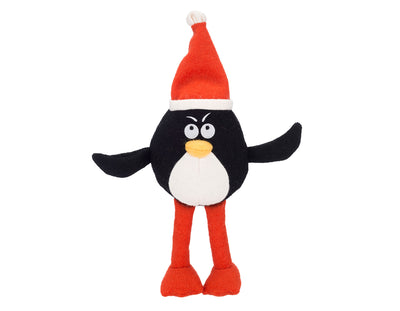 "Pepe the Penguin 15"" Woolie Dog Squeak Toy"