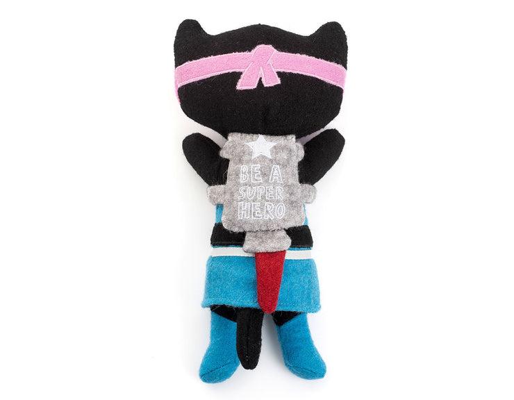 "Kicky The Cat 11"" Wool Toy"