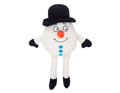 "Snowy The Snowman 15"" Woolie Dog Squeak Toy"