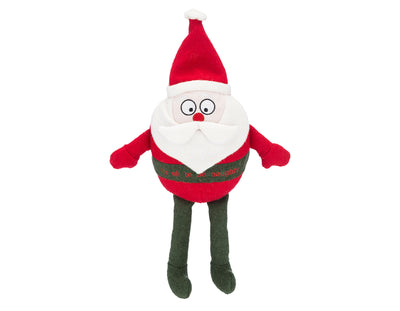 "St. Nick 15"" Woolie Dog Squeak Toy"