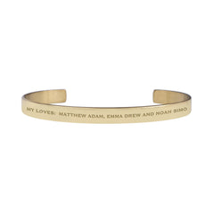 Custom Engraved Cuff - Create Your Own