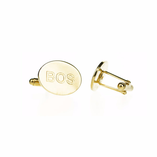 Engraved City Cufflinks (Cities I-P)