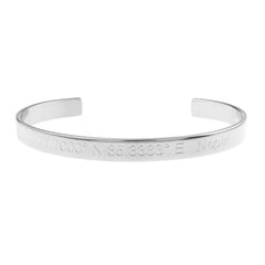 Nepal Engraved City Cuff