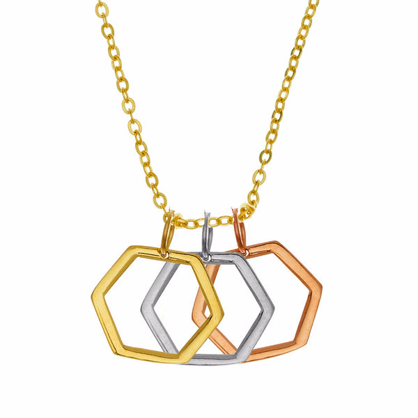 Small Tri-color Hexagons