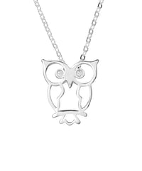 Owl with Crystals