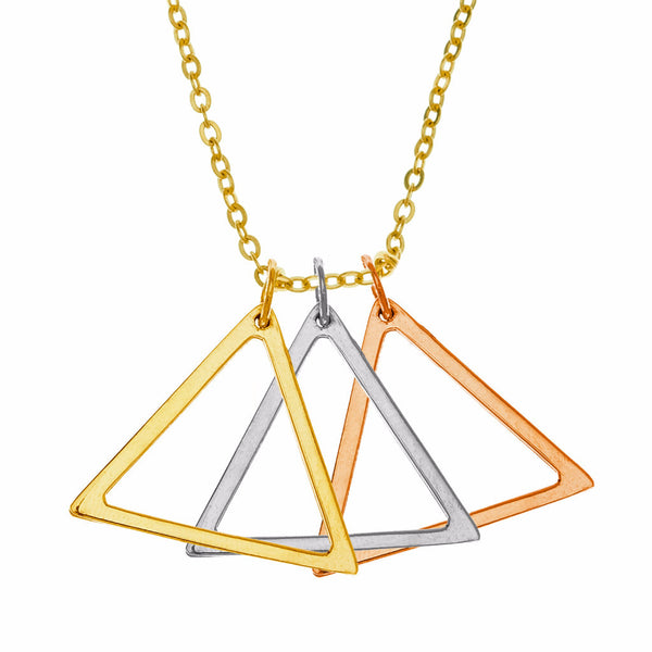 Large Tri-color Triangles