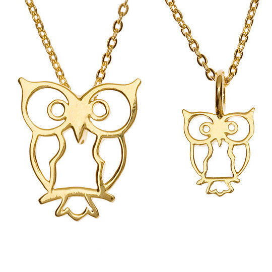 Owl Pair (Small & Large)