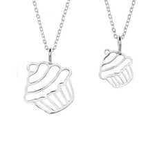 Cupcake Pair (Small & Large)