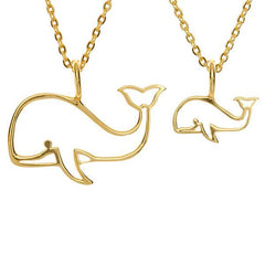 Whale Pair (small & large)