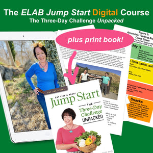 Eat Like a Bear! Digital Jumpstart Course (Plus PRINT Book Package, U.S. orders only)