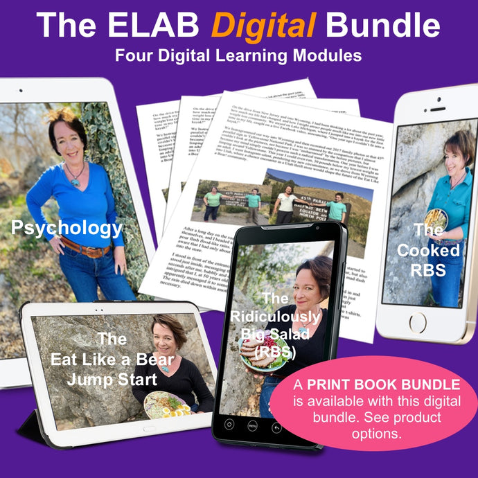 Eat Like a Bear! Digital Course BUNDLE (Digital Only)