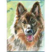 German Shepherd Dog Banner Flag - Life's a breeze GB Ltd