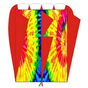 Tie Dye Red Air Foil Kite - Life's a breeze GB Ltd