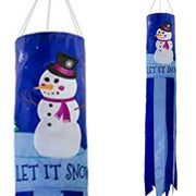 Let it Snow Windsock - Life's a breeze GB Ltd