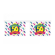 Happy Birthday Bunting. 50TH Birthday Bunting - Life's a breeze GB Ltd
