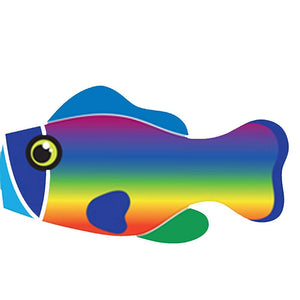 Life's a breeze Rainbow Fish Windsock - Life's a breeze GB Ltd