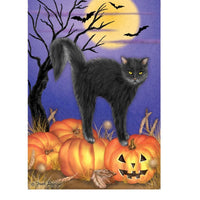 Kitty Cat Halloween Flag - Life's a breeze GB Ltd