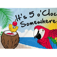 It's 5 o'clock Somewhere Flag - Life's a breeze GB Ltd