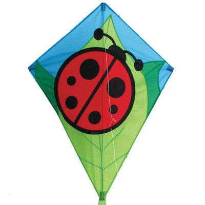 Lady Bug Diamond Kite - Life's a breeze GB Ltd