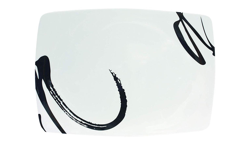 Ink Design Melamine Rectangular Platter - Life's a breeze GB Ltd