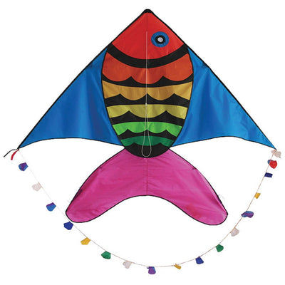 Rainbow Fish Kite - Life's a breeze GB Ltd