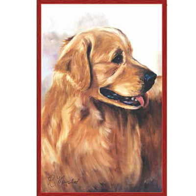Golden Retriever Dog Banner Flag - Life's a breeze GB Ltd