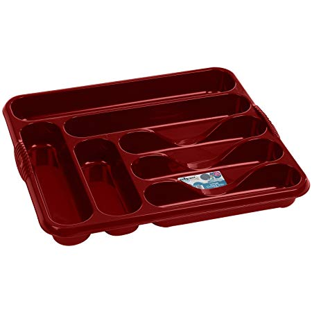 Red Cutlery Tray - Life's a breeze GB Ltd