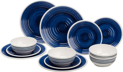 Azure Premier Melamine Dinner Set - Life's a breeze GB Ltd