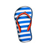 Beach Towel.Yello Flip Flop Beach Towel Microfibre Towel - Life's a breeze GB Ltd