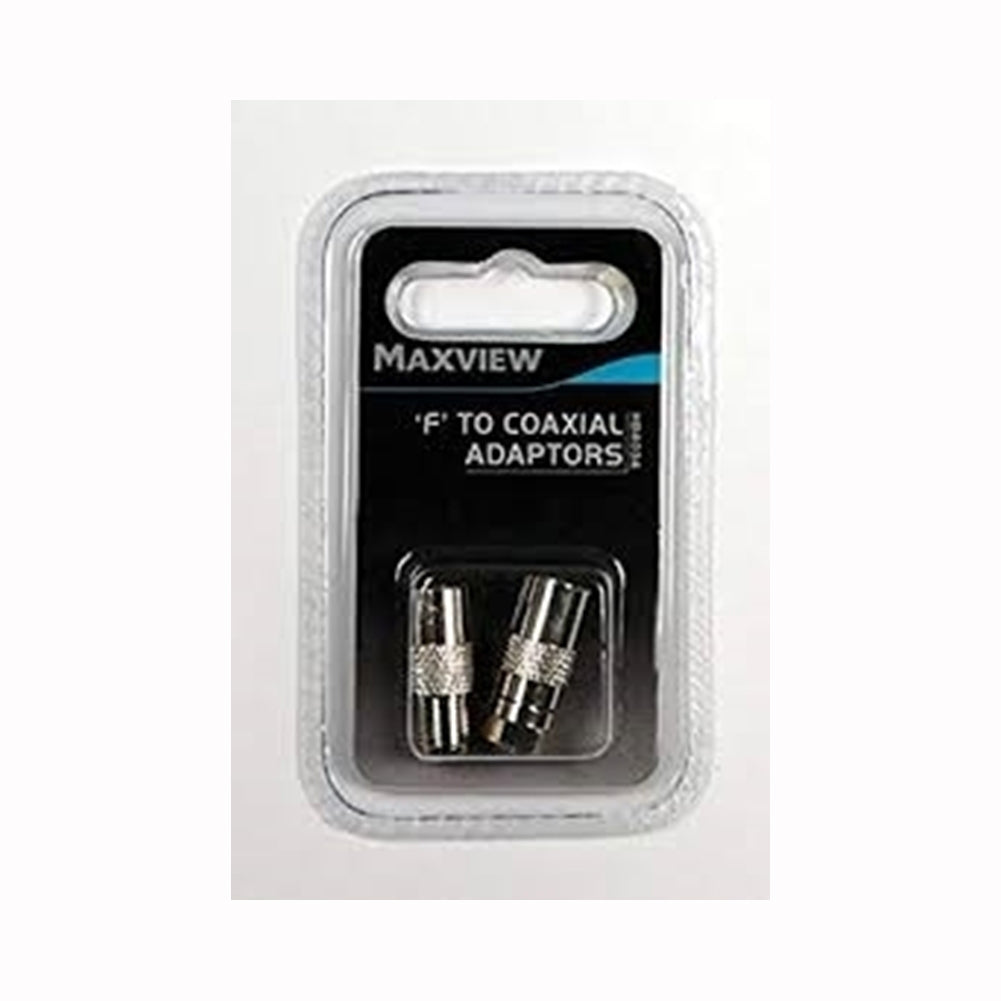 Maxview 'F' To Coaxil Adaptors - Life's a breeze GB Ltd